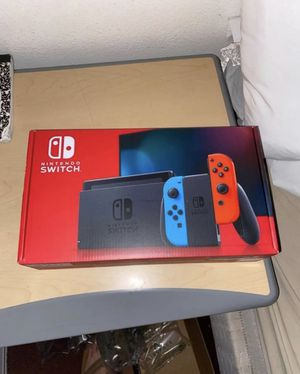 Nintendo switch Brand new red and blue for Sale in Los Angeles, CA