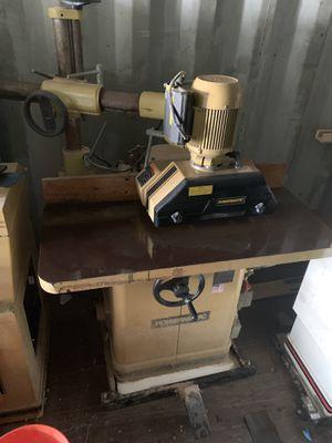 Wood Shaper—Powermatic 5HP with Feeder for Sale in Davie, FL