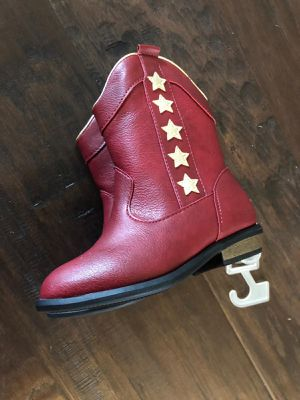 Brand new with tags toddler unisex boot winter cowboy red for Sale in Garland, TX