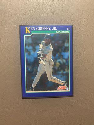 Score 91 Ken Griffey, Jr Baseball Card for Sale in Aurora, OH