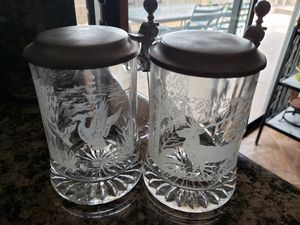 Used, German Beer mugs with lids for Sale for sale  Redlands, CA