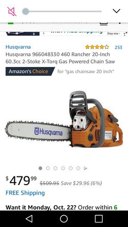 Chainsaw for Sale in Rose Hill,  KS