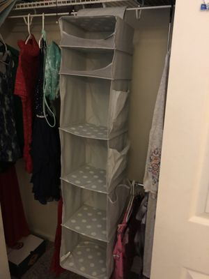Hanging closet organizer for Sale in Aurora, CO