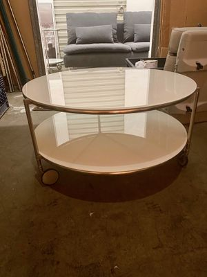Glass Top Coffee Table for Sale in Costa Mesa, CA