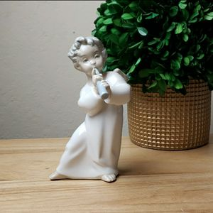 Vintage Lladro #4540 Angel Playing Flute Figurine for Sale in Redmond, WA
