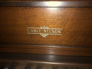 Upright Cable Nelson Piano for Sale in Knightdale, NC