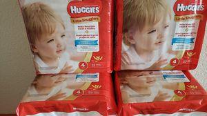 Huggies size 4 for Sale in El Cajon, CA