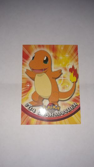 Charmander 2000 Topps for Sale in West Covina, CA