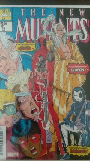 Marvel Comics The New Mutants #98 Reprint for Sale in Holley, NY
