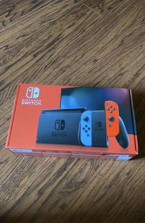 Nintendo Switch w/ Neon Blue Red Joy-Con for Sale in Holmdel, NJ