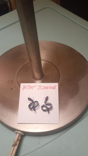 Betsey Johnson snake ear rings for Sale in Chattanooga, TN