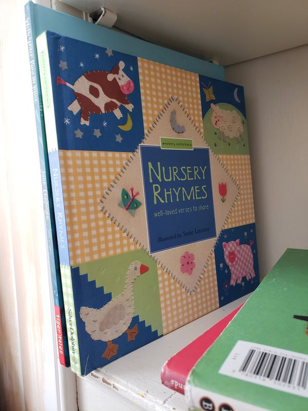 Kids hard back books inc llama llama, farm, nursery rhymes