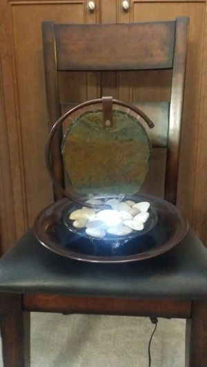 Slate and Copper Relaxation Water Fountain - For Home or Office Desk for Sale in Vista, CA