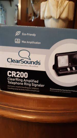ClearSounds Amplified telephone ring signaler for Sale in Port Neches, TX