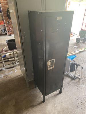 Black metal locker. Great shape. Kids room for Sale in Presto, PA