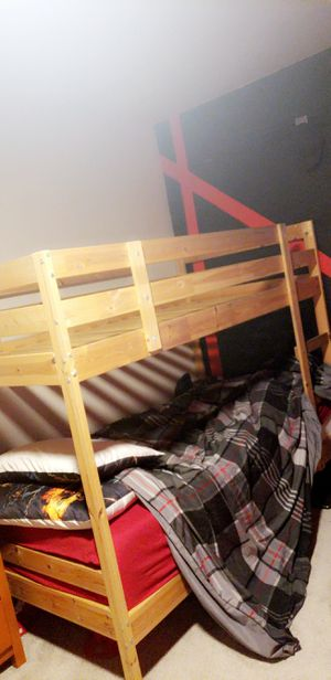 Real Wood Bunk Beds for Sale in West Linda, CA