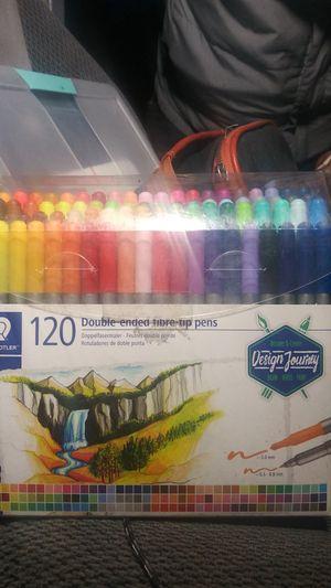 Staedtler Double Ended fibre tip marker pens for Sale in Tacoma, WA