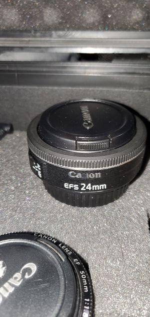 Canon 24mm EFs lens for Sale in Ruskin, FL