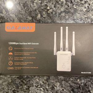 GALAWAY 1200 Mbps Dual Band Wifi Extender for Sale in Columbia, MD