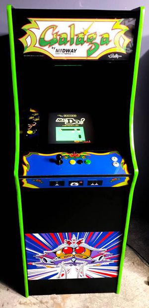 New galaga full size 60 game arcade for Sale in Loganville, GA