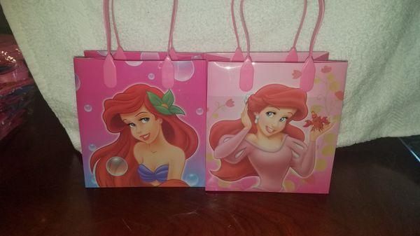 Little Mermaid Goodie Bags
