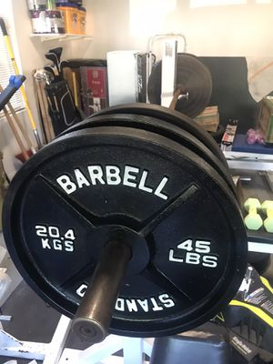 Pair of 45's lbs Weight Plates for Sale in Fort Belvoir, VA