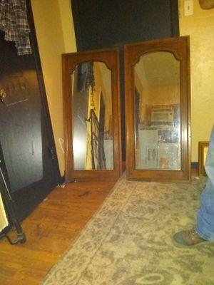 Two dresser mirrors for Sale in Dallas, TX