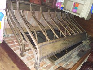 Iron head and foot board with rails for Sale in Abilene, TX