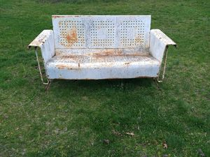 Vintage Metal Porch Glider for Sale in Bunker Hill, WV