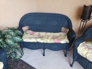 Indoor outdoor plastic wicker furniture for Sale in TEMPLE TERR, FL