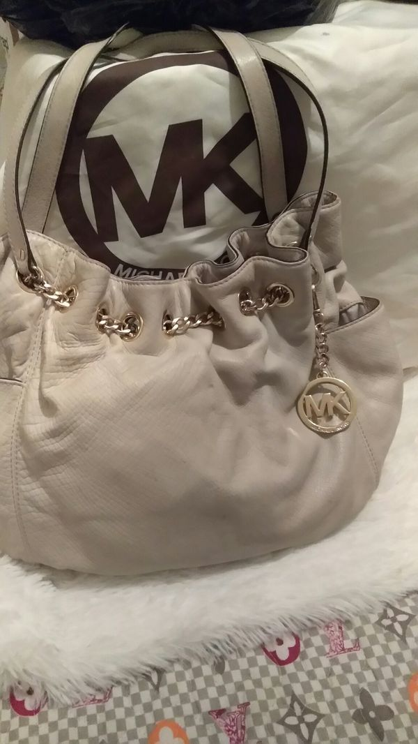 MK LEATHER BAG AUTHENTIC