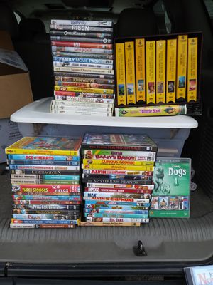 Family/youth dvds and vhs for Sale in Arlington, WA