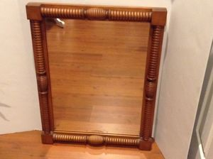"Conant Ball Famous Reproductions of Old New England Furniture Wall Mirror Rock Maple Vintage 28""x21""x2"" for Sale in Glenelg, MD"