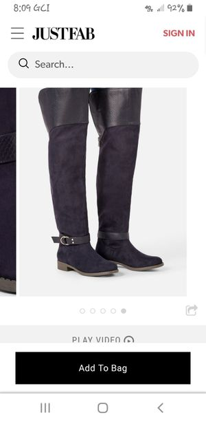 Francesca over-the-knee boot for Sale in Anchorage, AK