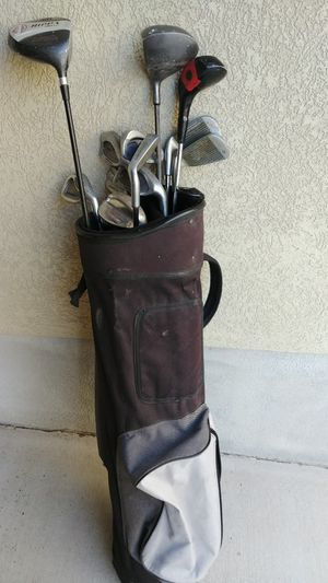 Golf clubs & golf bag for Sale in West Valley City, UT