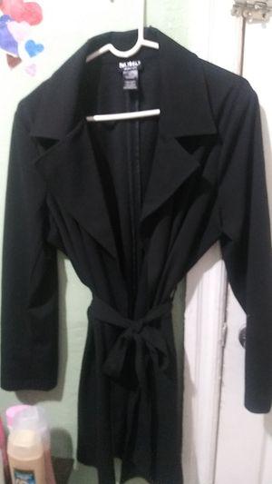 Light 3/4 length black women's dress coat $20 for Sale in Philadelphia, PA