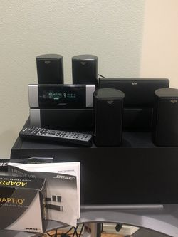 Bose LifeStyle V20 Bass, Media Center, Display With 5 Klipsch Satellite Speakers for Sale in Damascus,  OR