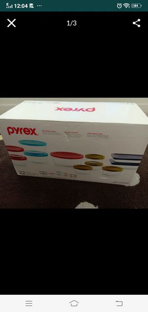 Pyrex glass bowl set new unopened with packing for Sale in Englewood, CO