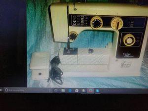 Anniversary zig zag sewing machine super stretch model 606 Julie Ann made in Japan for Sale in Bay City, MI
