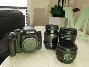 Canon t6i for Sale in Marietta, GA