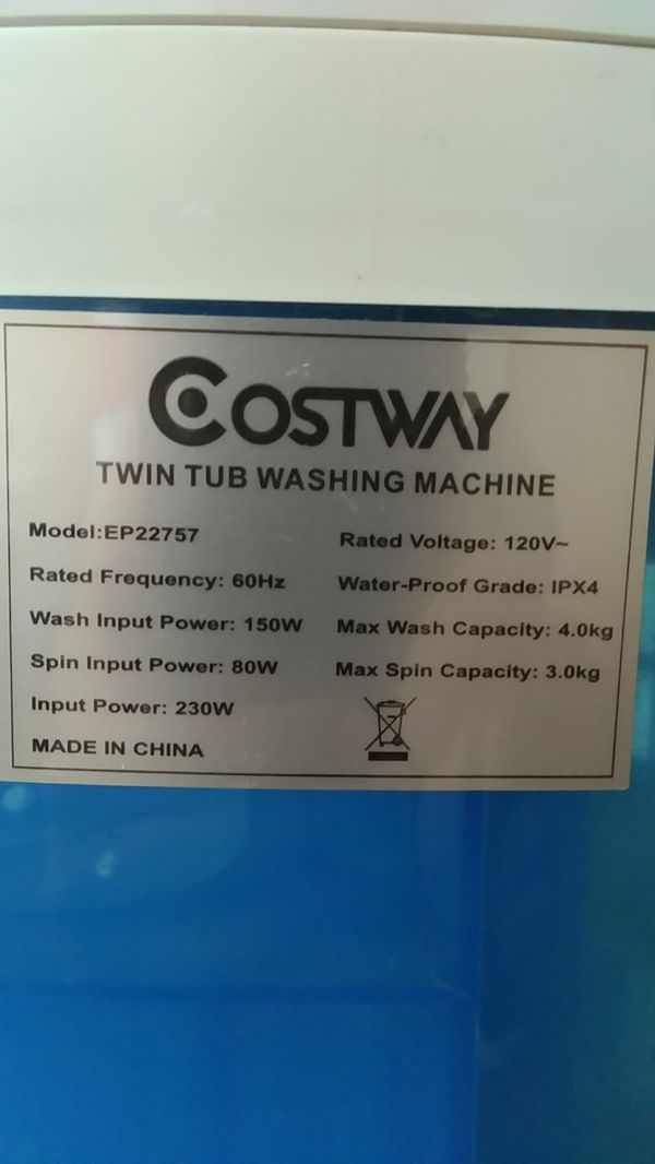 Costway EASY Washing Machine