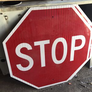 Stop Signs Metal Large 30x30 for Sale in Hayward, CA