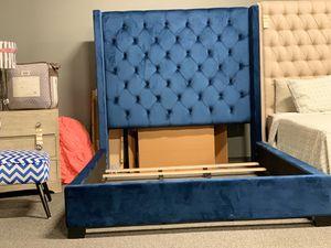 Queen Upholstered Bed Frame for Sale in Nashville, TN