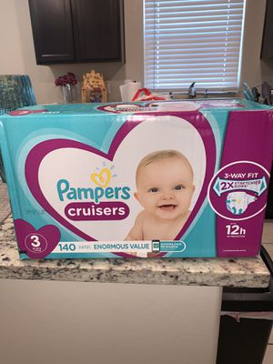 Size 3 of pampers for Sale in Phoenix, AZ