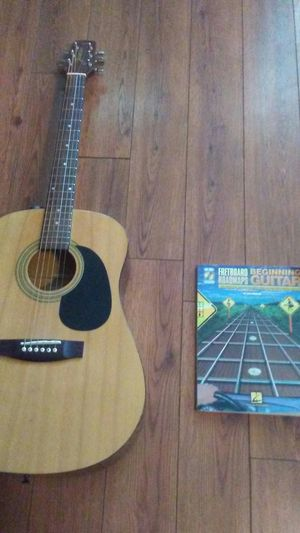 Jasmine by Takamine Guitar and book. Disc included for Sale in Kingsport, TN