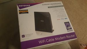 Netgear Wifi Cable Modem Router - AC1600 for Sale in Fairfax, VA