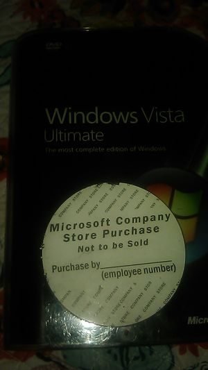 Windows vista ultimate for Sale in San Diego, CA