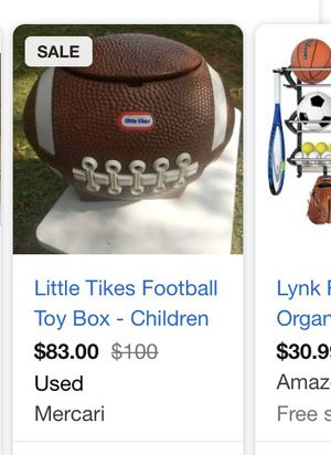 Large football storage for Sale in La Vergne, TN
