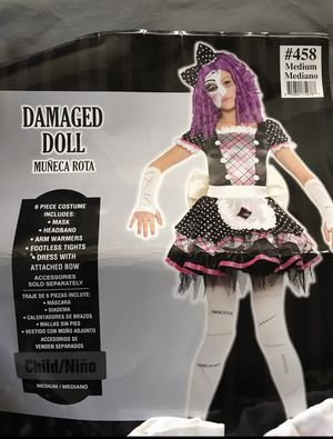 Damaged doll costume for Sale in Yardley, PA