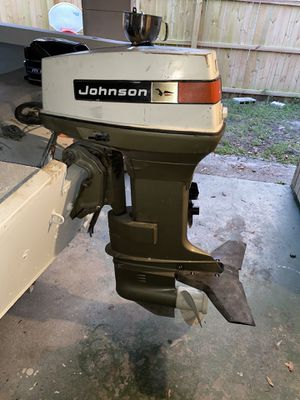 Johnson outboard for Sale in Dade City, FL